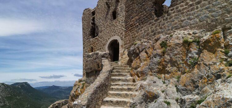 Poslední katarská pevnost: Château de Quéribus