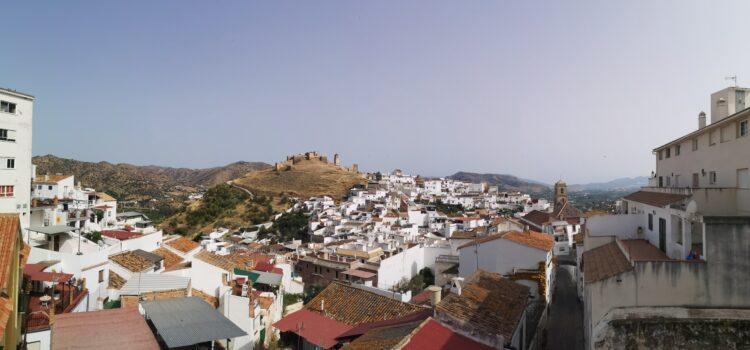 Bíle španělské městečko – Álora