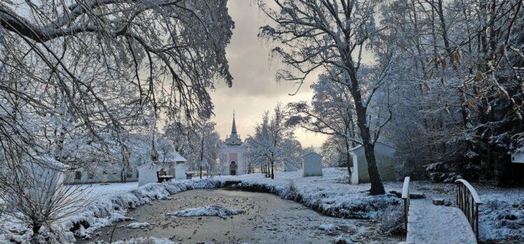 Barokní areál Skalka v ročních obdobích