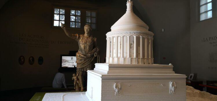 Augustův památník v La Turbie / Trophée d'Auguste