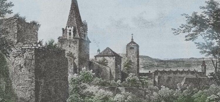 Městské hradby Berounské