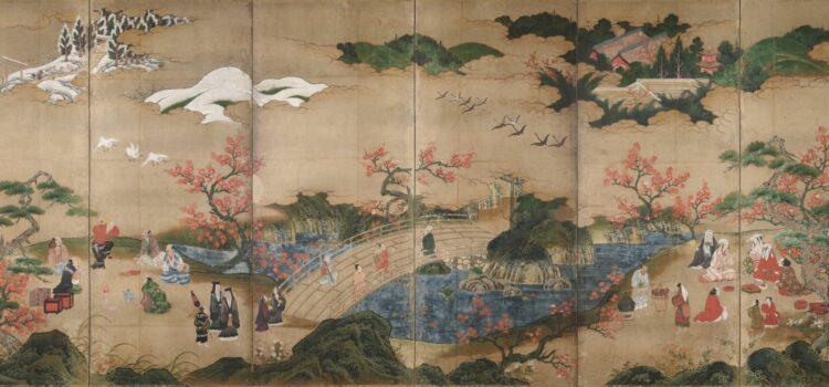 Lov na pozimní listí, Kanō Hideyori